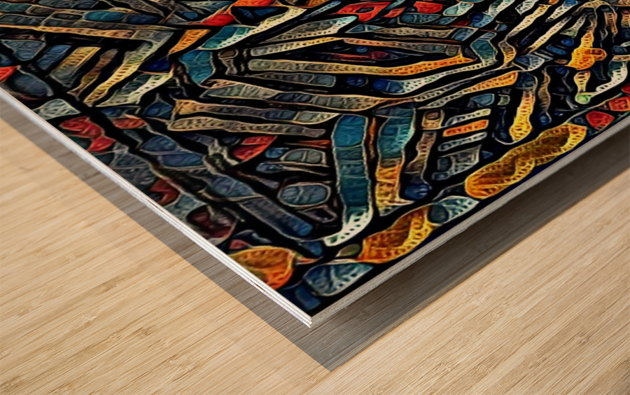 osfoboro Wood print