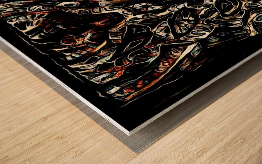 qadaker Wood print