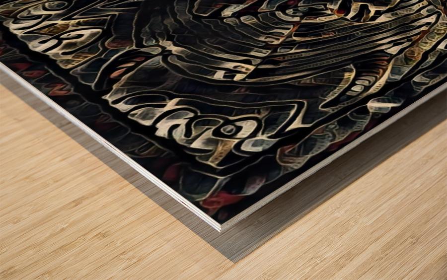 usuna  Wood print