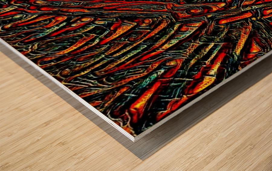zuzun  Wood print