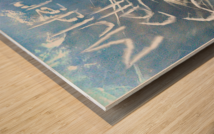 ChemTrails Wood print
