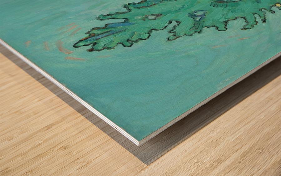 August Wood print