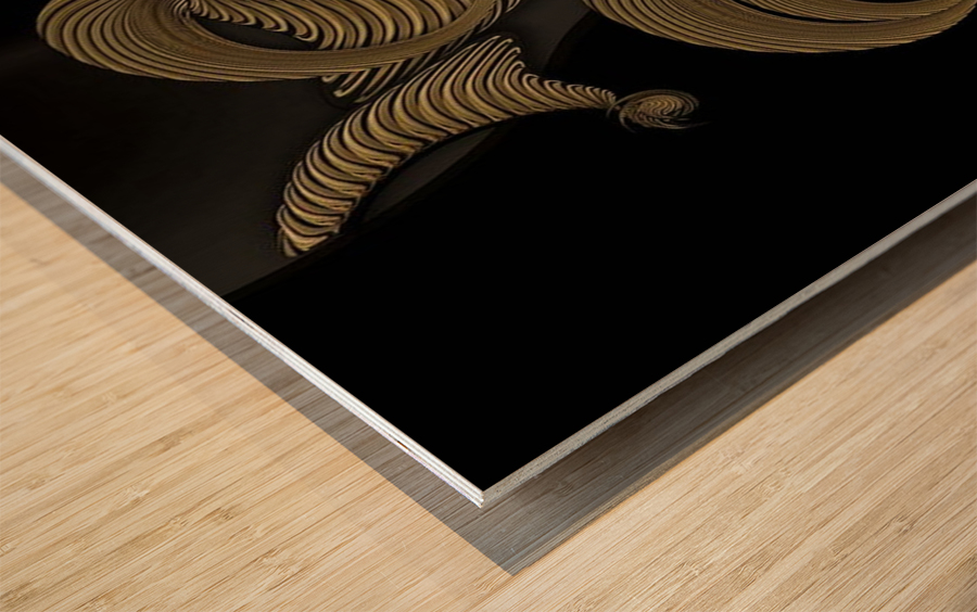 Undefined Compilation - Vegetable Wood print