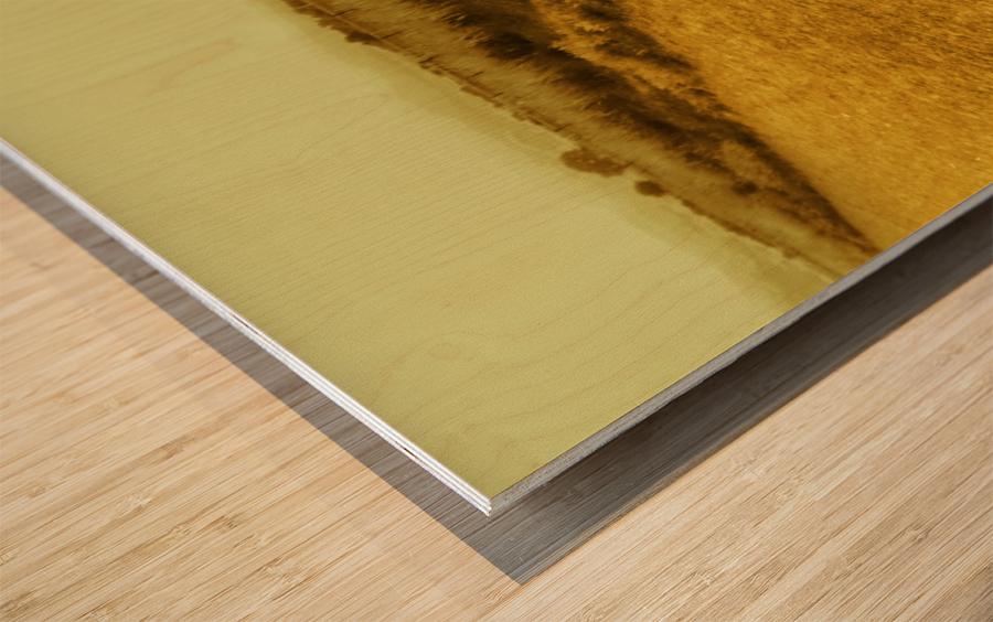 A (3) Wood print