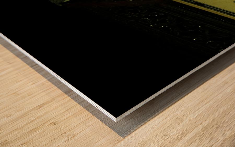 D (4) Wood print