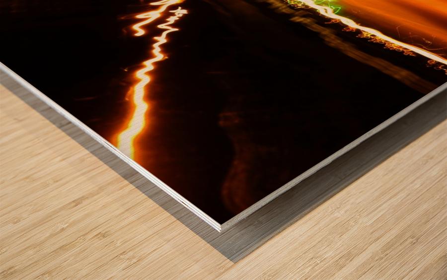 E (7) Impression sur bois