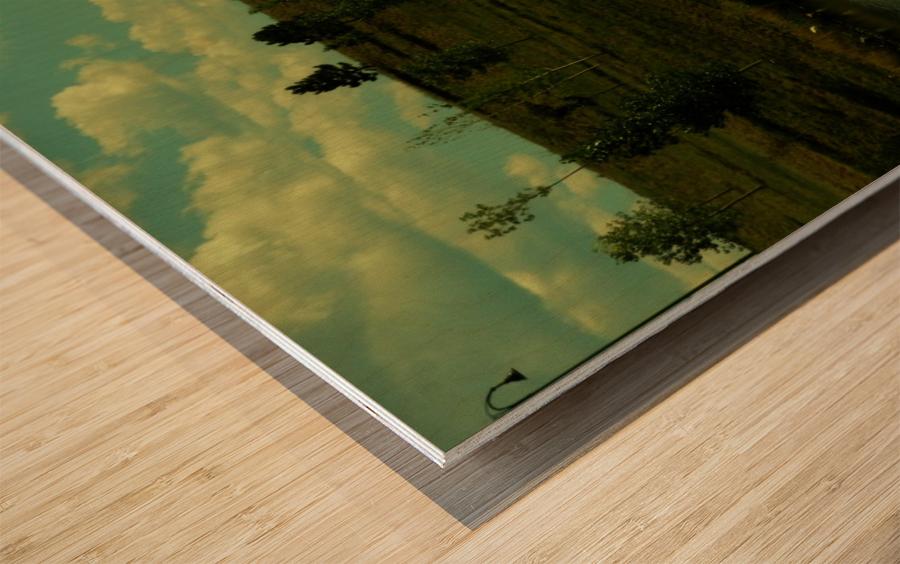 H (5) Wood print