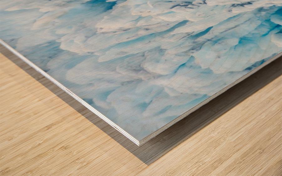 Alaska Gifts - Glacier Photographs Impression sur bois