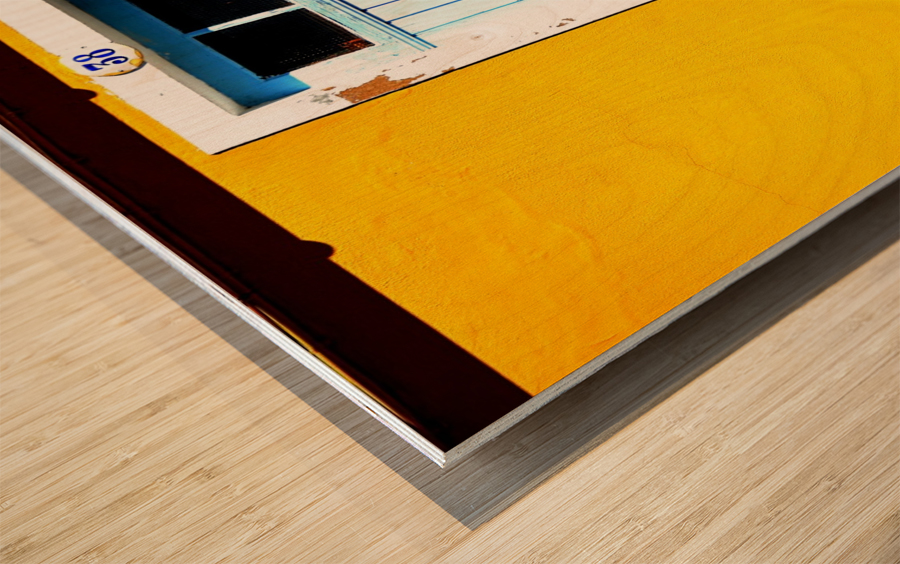 Yellow 04_OSG Wood print