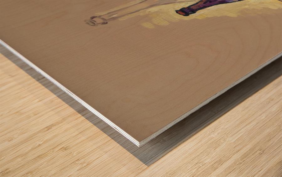STL 4 Wood print