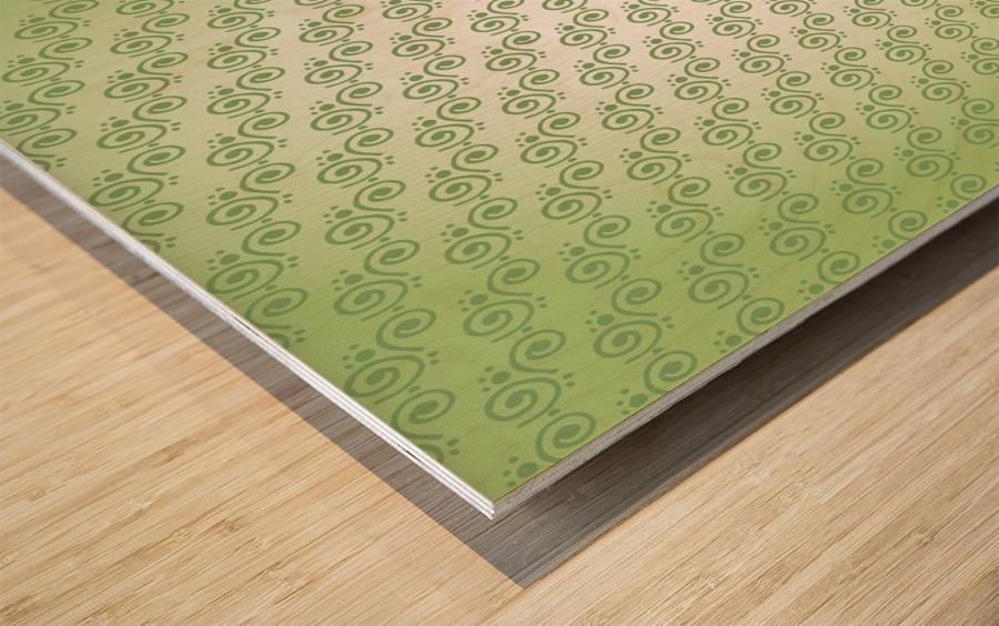 Design Art Wood print