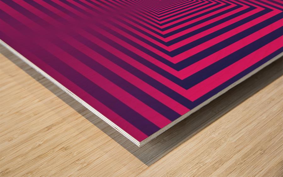 Retro Wood print