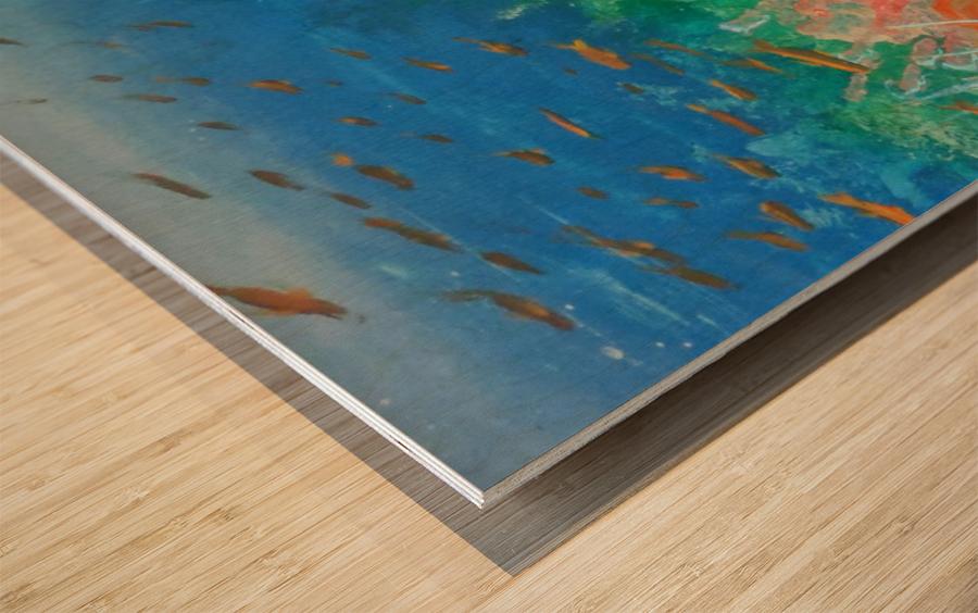 Fantasea Wood print