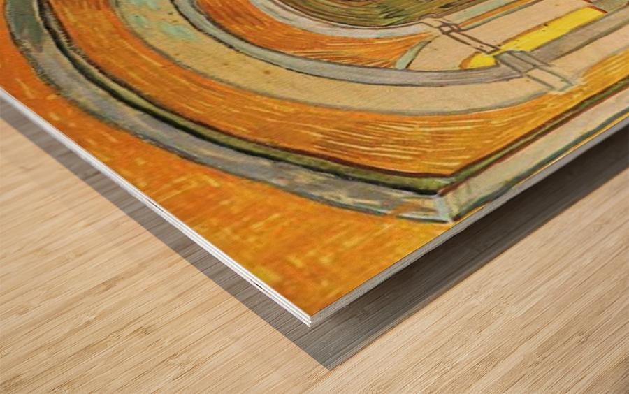 Corridor in Saint-Paul Hospital by Van Gogh Wood print