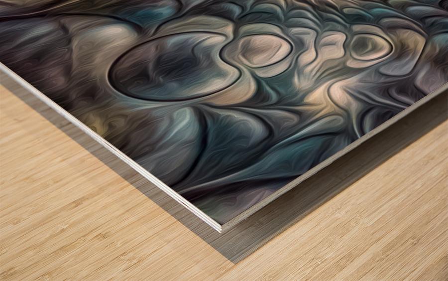 Fractal Design 2 Wood print