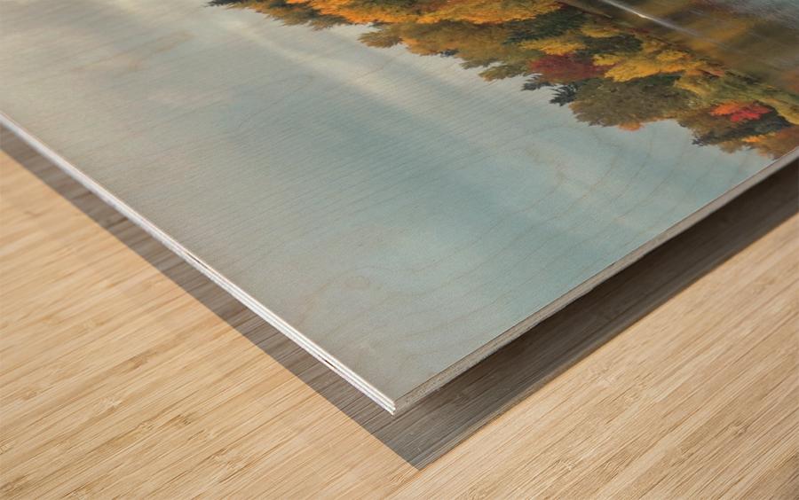 Weyerhaeuser HQ last View Wood print