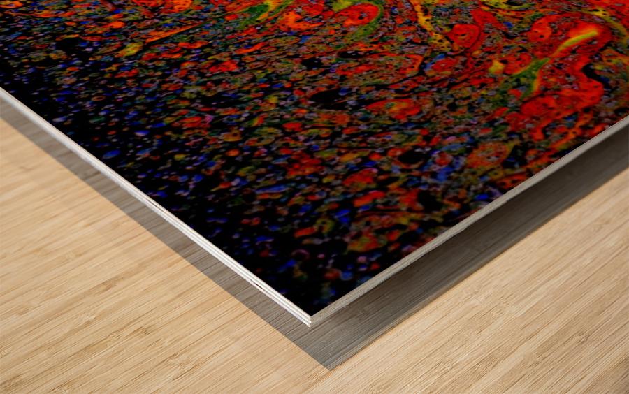 Bubbles Reimagined 67 Wood print