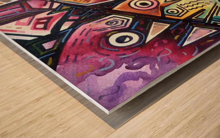 Passion Of Pythagorus 2 Wood print