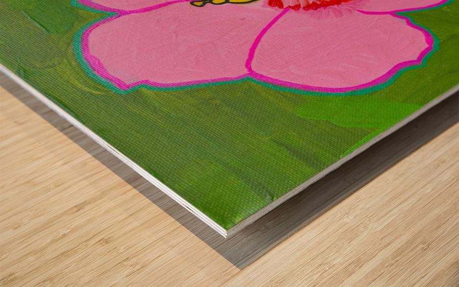 Hibiscus. Annie F Wood print