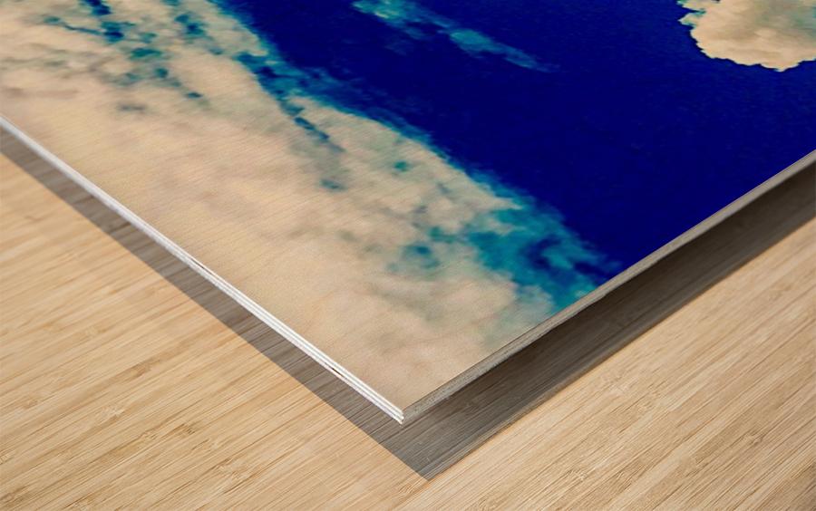 Follow the rainbow  Wood print