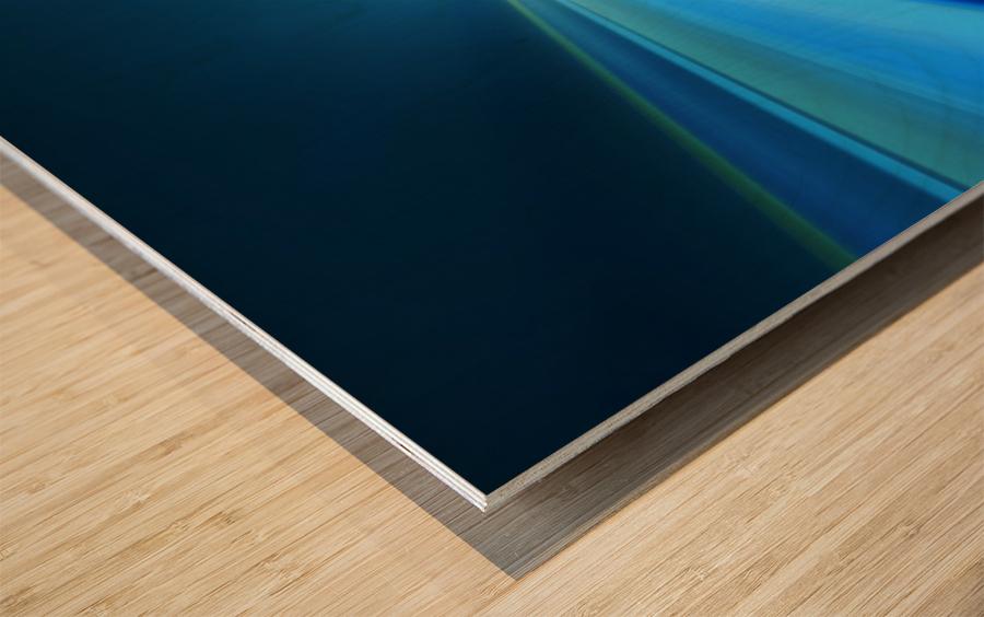 Tunnel Vision Wood print