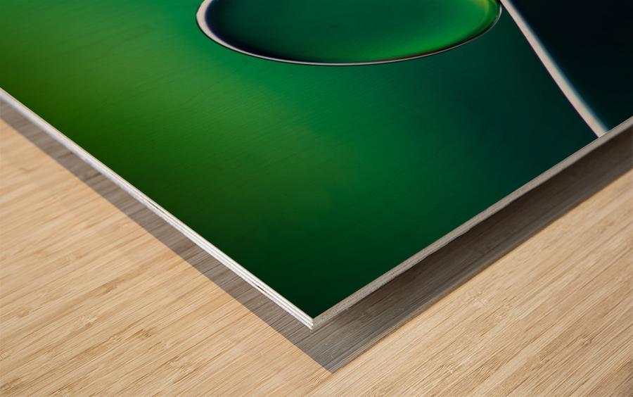 Shifting Shapes Wood print