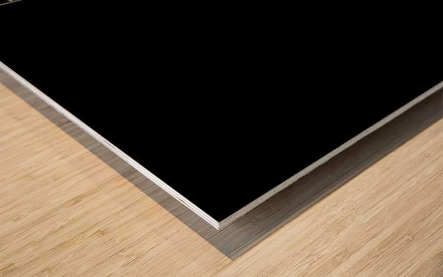 Lines of Light Wood print