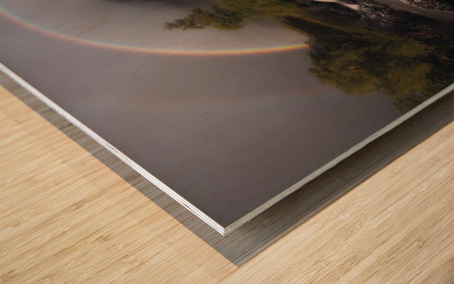 Etive Rainbow Wood print