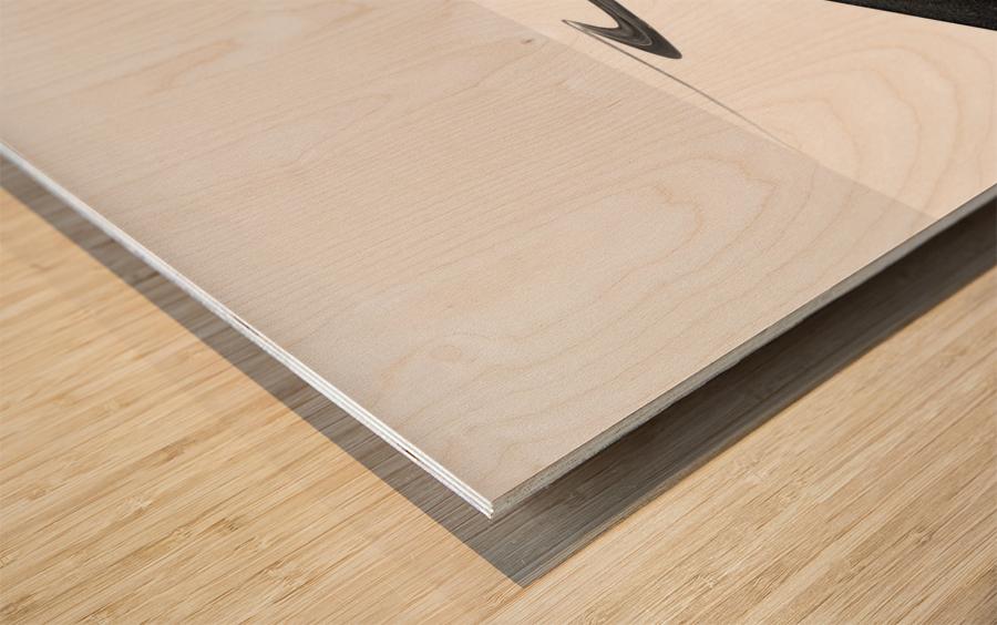 Road I Wood print