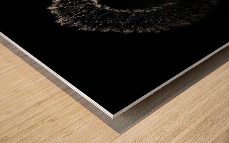 Nine Wood print