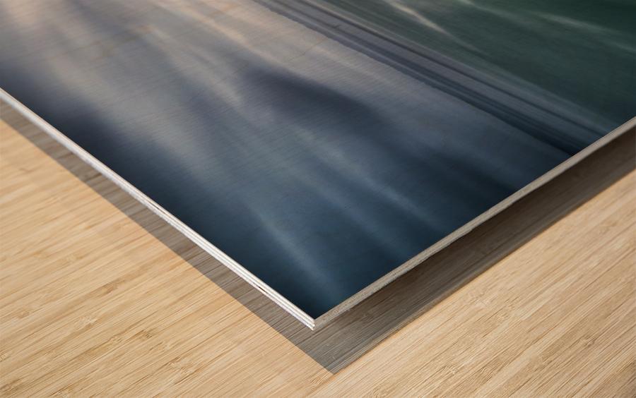 Le Minou Wood print