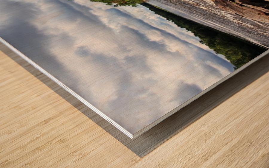 Sturgeon Chutes IX Wood print