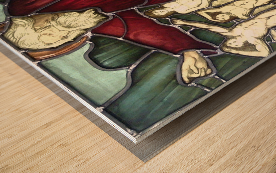 Edward Burne-Jones 8 Wood print
