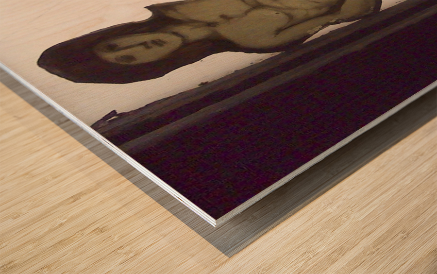 Edward Burne-Jones 7 Wood print