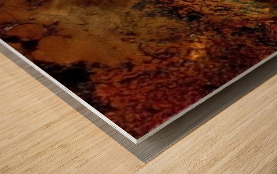Tigress Wood print
