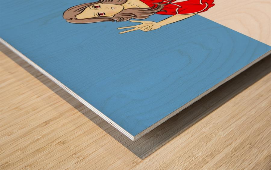 Argentina Wood print