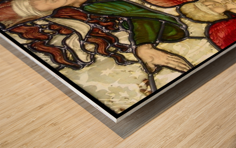 Edward Burne Jones 10 Wood print