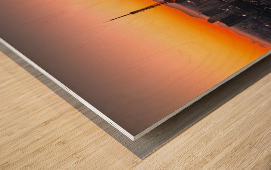 TOKYO 01 Wood print