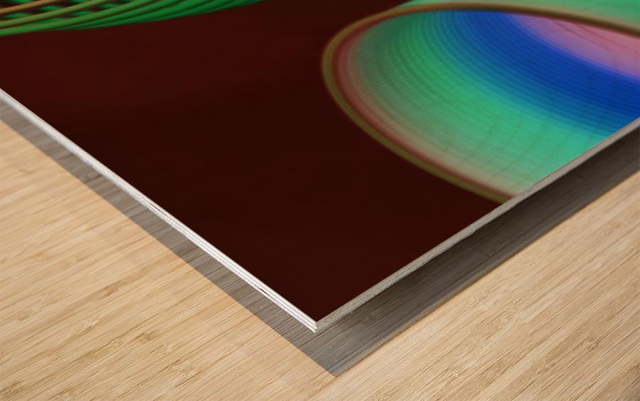 loopy Wood print