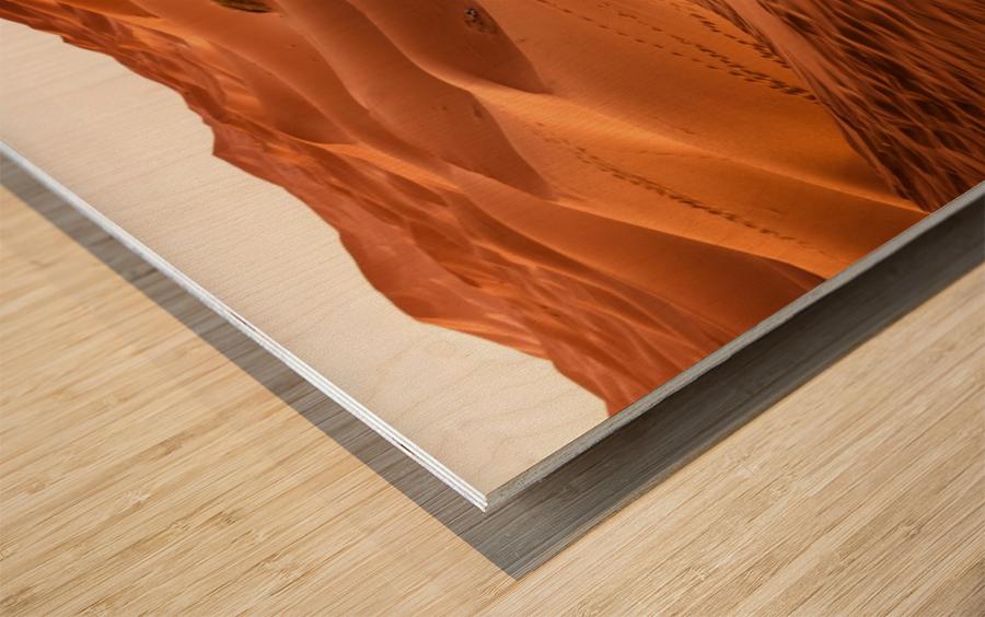 desert, morocco, sand dune, dry, landscape, dunes, sahara, gobi desert, Wood print