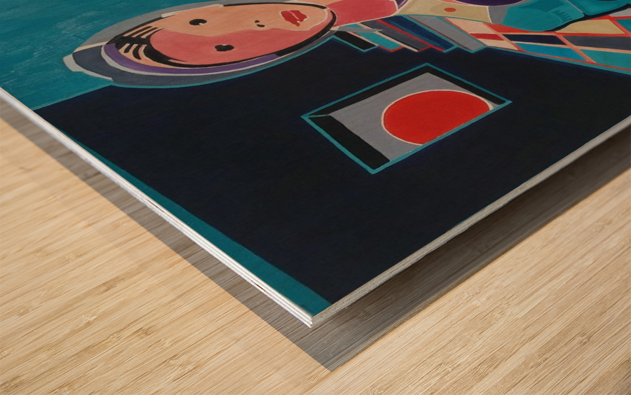 Sentinelle de la Paix Wood print