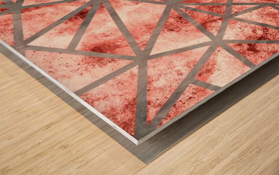 Geometric XXXV Wood print