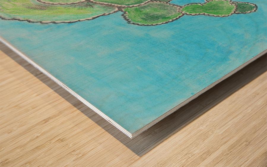 Last dip of the Summer. Gene H. Wood print