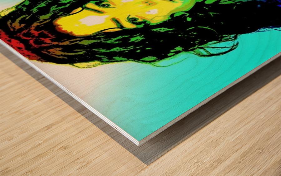 Simply Beautiful   by Neil Gairn Adams Wood print