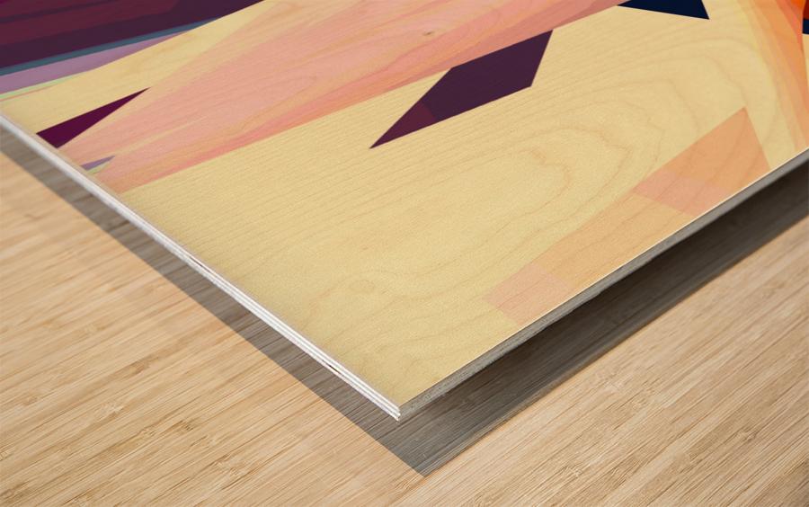 sunrise 19d1019 Wood print