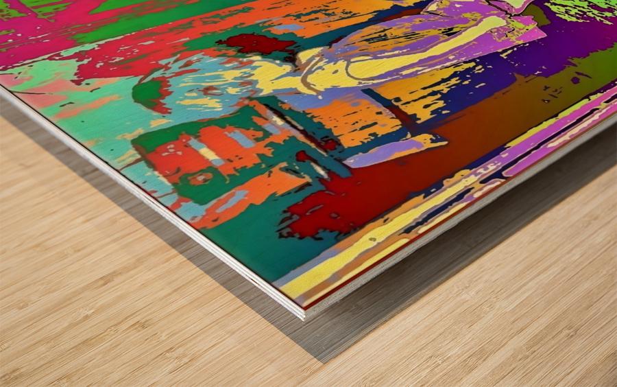 The Mother -  by Neil Gairn Adams  Wood print