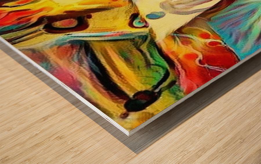 Piece of Mind Wood print