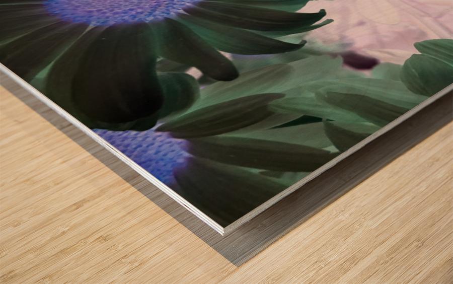 Purple44flow  Impression sur bois
