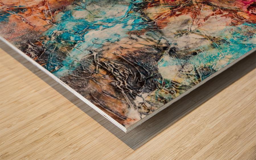Sophia Six Wood print