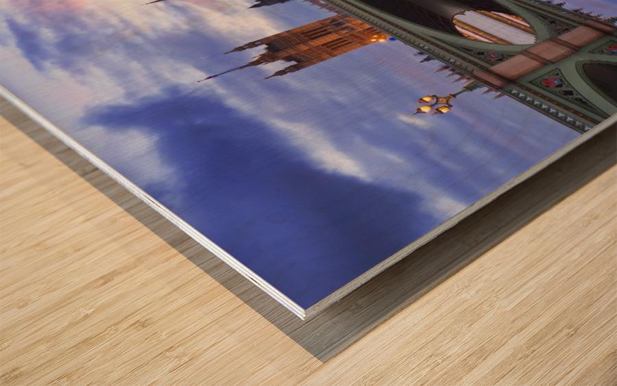LON 005 Big Ben  Wood print